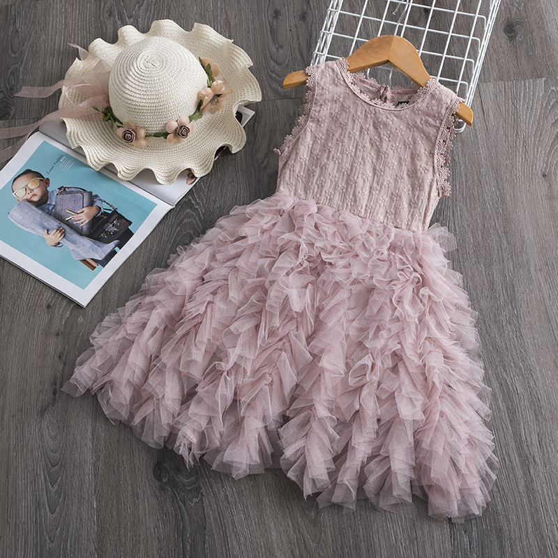 Hf1fc2bc25ab64930b6c988f25626741dy Cute Girls Dress 2019 New Summer Girls Clothes Flower Princess Dress Children Summer Clothes Baby Girls Dress Casual Wear 3 8Y