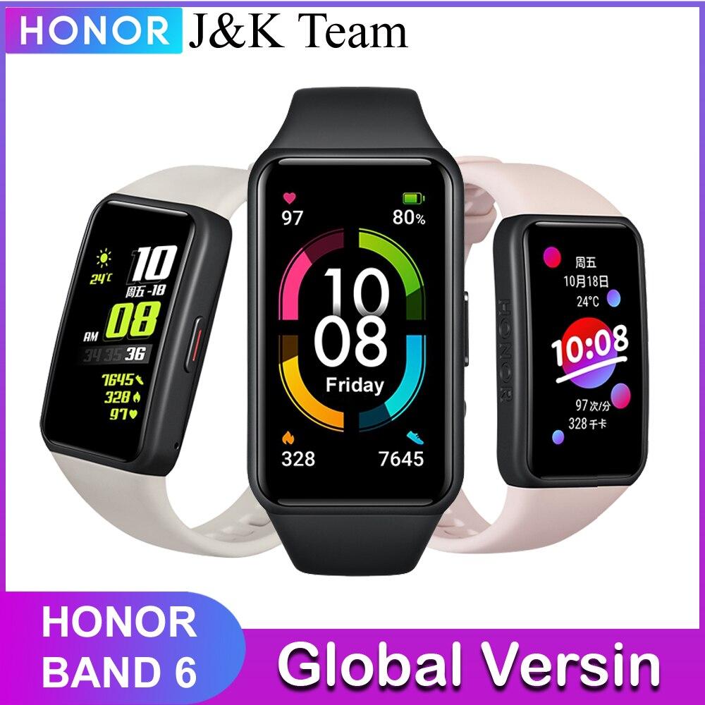 Honor Band 6 SmartWatch Поддержка нескольких языков 1,47