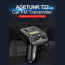 2019 Wireless Bluetooth FM Transmitter Handsfree Call Car usb Charger MP3 Player for Car Dual USB Ports with Fast quick Charger 2 1 car charger with dual usb ports