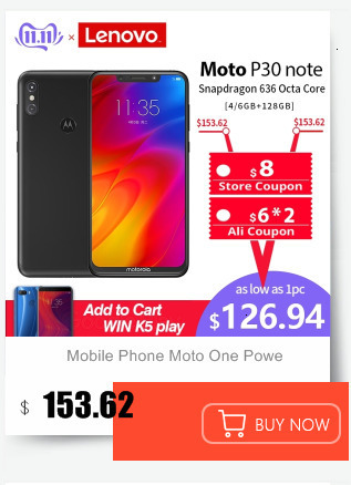 Hf1fcbaec7e0540d2a5a97b79bf7e7ad8e Moto One Mobile Phone 4GB 64GB AI Camera Smartphone 2.5D Double-sided Glass Body Octa Core Phone Support Face Fingerprint Unlock