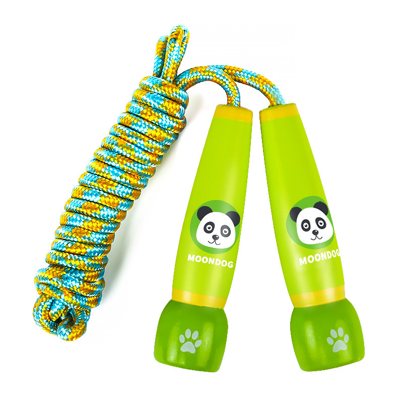 Jump Rope Children Beginner Young STUDENT'S GIRL'S Wood Men's Sports Children Jump Rope Wooden Toys 3-5-6-8-Year-Old
