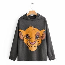 2019 Autumn winter hooded Tee Jumper the lion king Coat Top Hoodies wom