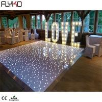 Hot Verlichting Producten Led Starlit Dance Floor Led 60*120 Cm-in Toneelbelichtingseffecten van Licht & verlichting op