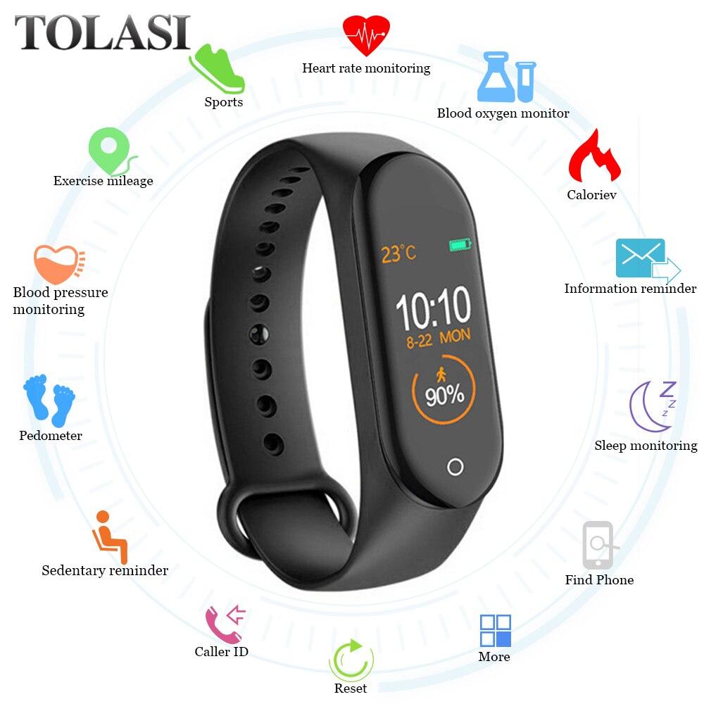 M4 Smart band Fitness Tracker Watch Sport bracelet Heart Rate Blood Pressure Smartband Monitor Health Wristband