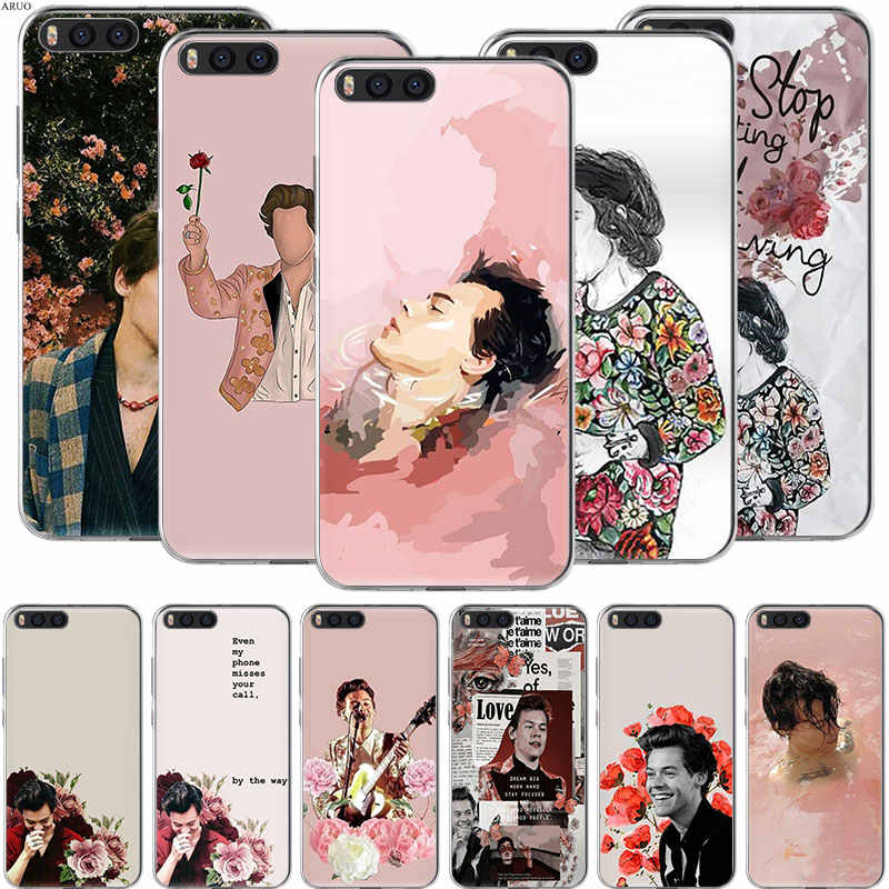 One Direction Harry Styles Siliconen Soft Phone Case Voor Xiaomi Mi Note 10 9T CC9E Pro A3 Lite Spelen redmi Note 8T 8A 6 Pro 6A 4X