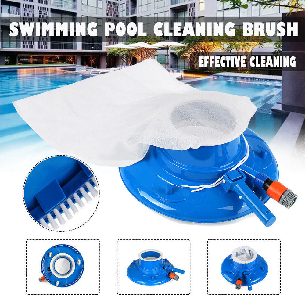 Swimming Pool Suction Vacuum Head Brush Cleaner Above Ground Cleaning Tool Pool Suction Head Pool Accessories For Spa Pond(China)
