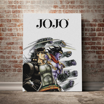 Canvas Print Picture Jotaro Kujo Wall Art Jojo S Bizarre Painting Home Decoration Anime Role Module Poster For Living Room Frame