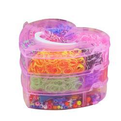 4000pcs Coloridas Bandas de Borracha Loom Twister Caso Pulseira Kit Fazendo Ferramentas Kits Para Crianças Adultos Tear DIY Artesanato Para crianças