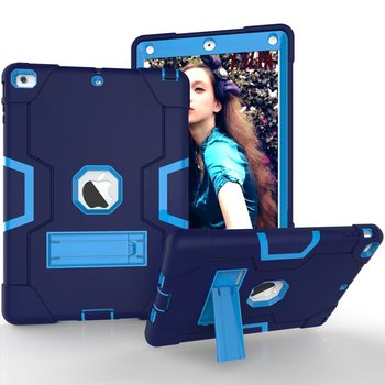 Silicone Shockproof Case For iPad Air 1 A1474/1475 Cover for ipad Air 1G Kids Safe Armor Heavy Duty Rubber case  +FilmPen