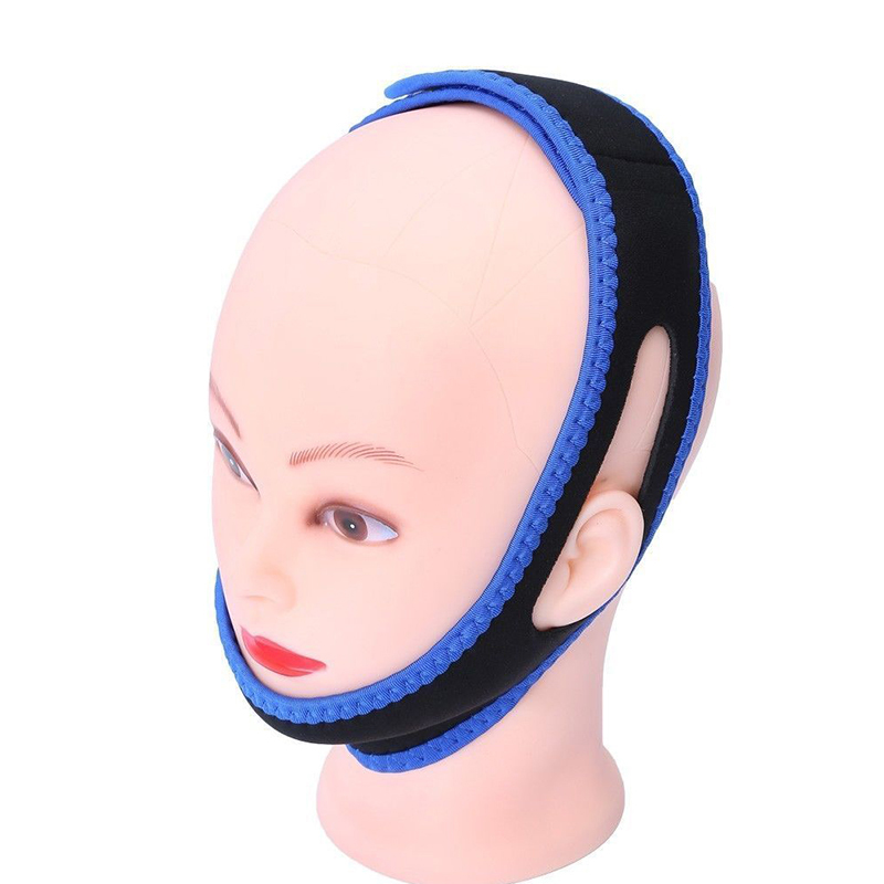 Health Care Anti Snore Chin Strap Mouth Guard Bandage Stop Bruxism Snoring Aid Snore Chin Strap Women Men Aid Sleeping Belts 5