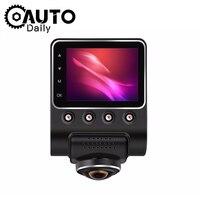 Car DVR 1080P Full HD 360 Degree Panoramic DashCam Car Registrar Vehicle Camera Video Recorder Motion Detector Monitor Camcorder
