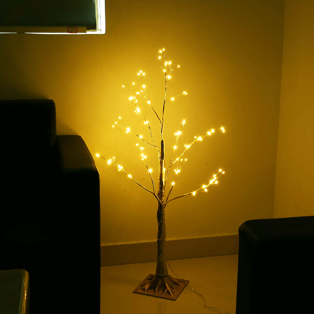 1 Pcs Simulation Tree LED Lights Decoration Christmas Party Home Festival Indoor Outdoor 2019ing