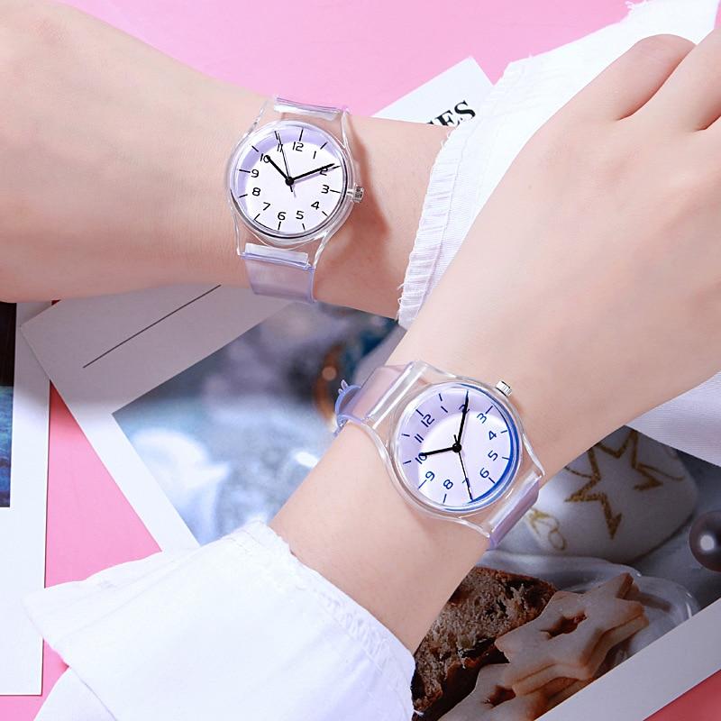 Модные Повседневное Для женщин спортивные Кварцевые наручные часы для присмотра за детьми, дети мальчиков часов для девушек-студенток;
