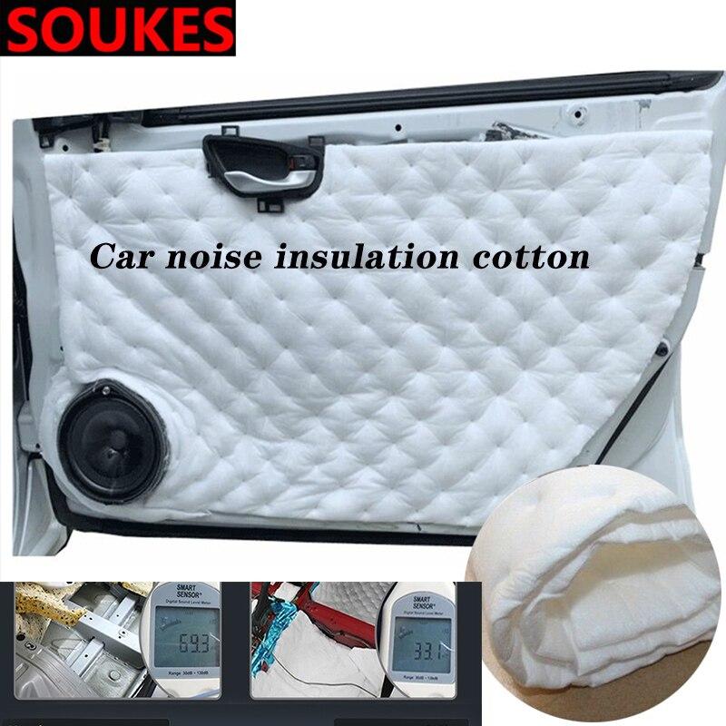 Car Sound Seal Noise Insulation Dampen Foam Mat For Chevrolet Cruze Aveo Captiva Lacetti TRAX Sail Epica Lada Granta Kalina Prio