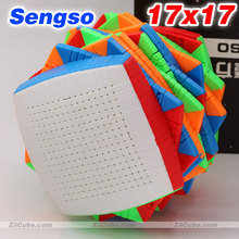 Magic cube puzzle SengSo SO shengshou 17x17x17 17x17 high level magic cube educational twist wisdom creative toys puzzle cube