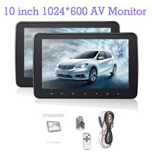 Monitor Dvd-Player Lcd-Screen Car-Headrest TFT 10inch HD with Radio for Digital 1024--600