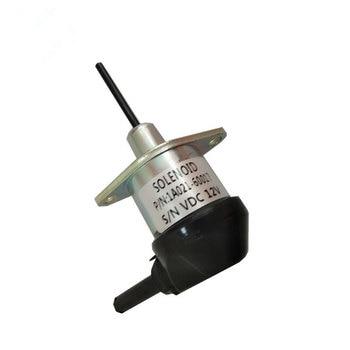 1A021-60017, 12V Fuel Shut Off Solenoid Valve Shutdown for Kubota D1503 D1703 D1803 Tractor 1A021 60017