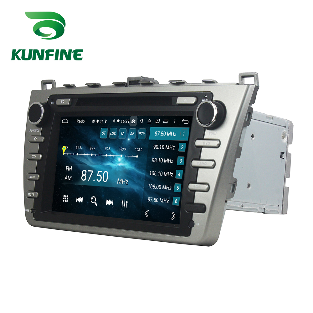 <font><b>Android</b></font> 9.0 Octa Core 4GB RAM 64GB ROM Car DVD GPS Navigation <font><b>Multimedia</b></font> Player Car Stereo for <font><b>Mazda</b></font> <font><b>6</b></font> 2008-2012 Radio image