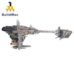 Buildmoc MOC 5083 UCS Nebulon-B медицинская модель фрегата Совместимость Lepining Звездные войны строительные блоки кирпичи Дети Рождественский подарок