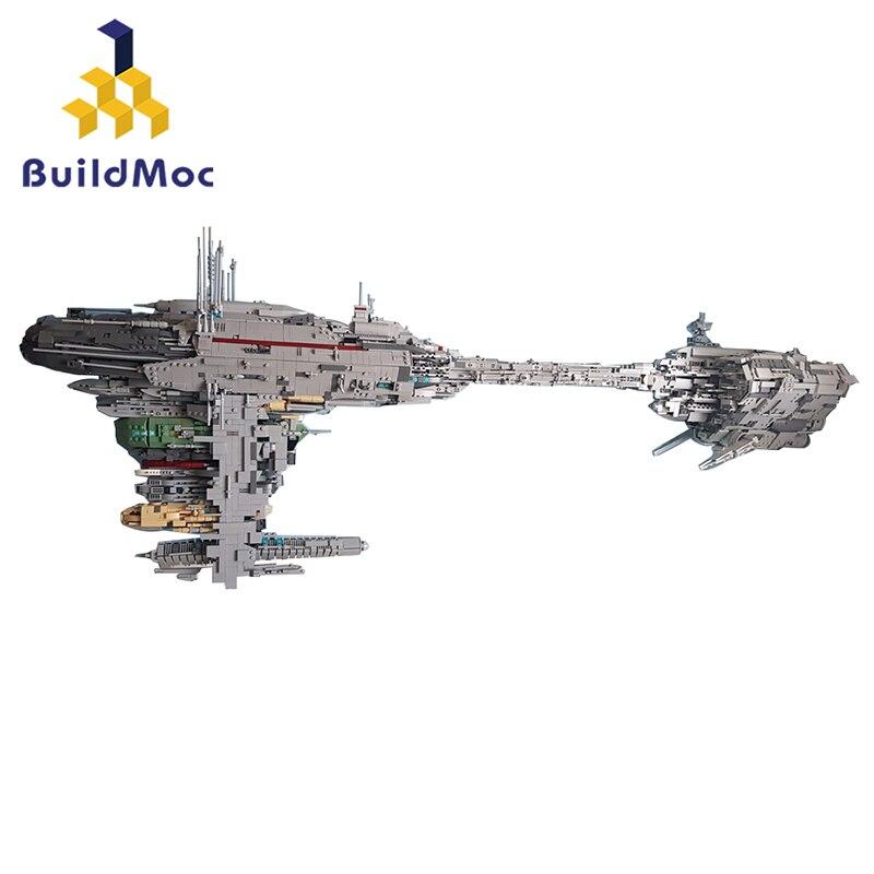 Construcdmoc MOC 5083 UCS nebulon-b modèle de frégate médicale Compatible Lepining Star Wars blocs de construction briques enfants cadeau de noël