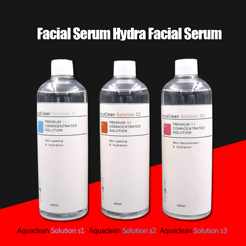 2020 Aqua Peeling Solution 400ml / Bottle AS1+SA2+AO3 Aqua Facial Serum Hydra Facial Serum For Normal Skin DHL Shipping
