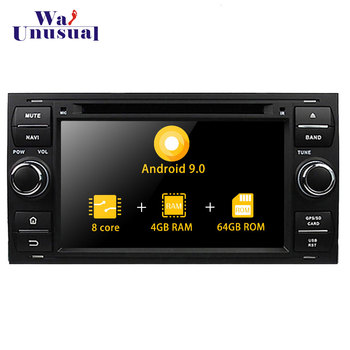 Autoradio 7 Octa Core Android 9.0 Car Radio For Ford Focus 2005 2006 2007 Auto GPS Navigation With BT Wifi Video Player 2 din image