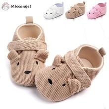 Toddler Shoes Animal Soft-Sole Newborn Infant Baby-Boys-Girls Cartoon Warm Cute Non-Slip