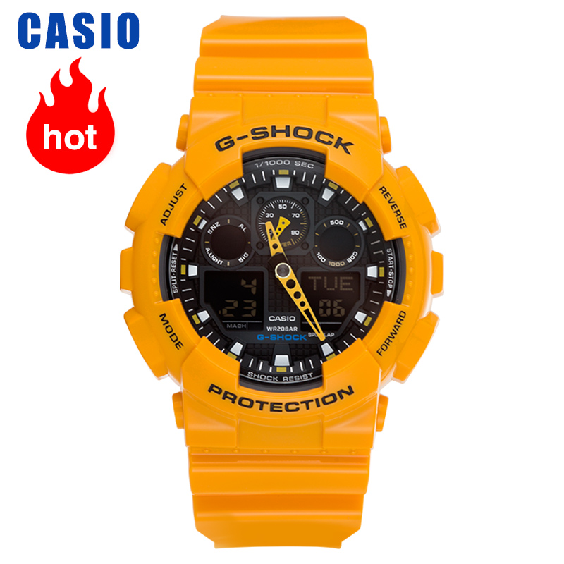 Casio Watch G-SHOCK Series Sports Trend Men's Watch  GA-100A-9A