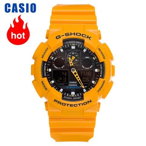 Casio Relógio G-shock Série Esportes Tendência Masculino Ga-100a-9a