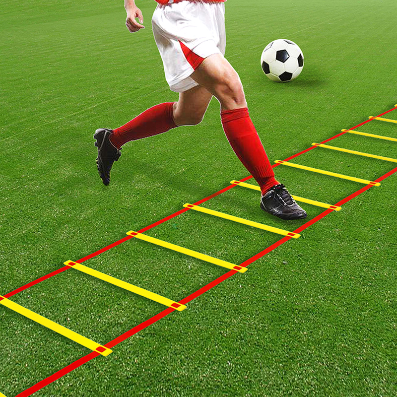4 Styles Nylon Straps Training Stairs Agility Ladders Speed Ladder Stairs For Soccer And Football Speed Ladder Sports Equipment