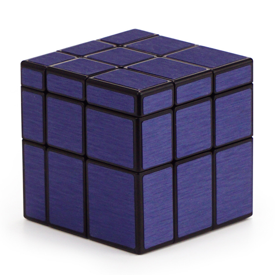 Qiyi Mirror Cube 3x3 Speed Cube 3x3x3 Magic Cube Puzzle Educational Toys For Children Cast Coated Mirror Blocks Gift 8