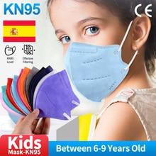 Children's masks KN95 boys and girls ffp2mask reusable breathable  n95 children dedicated Mascarillas masques ffpp2 enfants