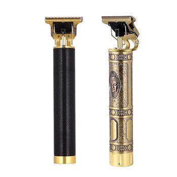 T9 USB elektryczna maszynka do strzyżenia włosów Man 0mm golarka trymer dla mężczyzn fryzjer profesjonalna broda akumulator ścinanie włosów maszyna tanie i dobre opinie Mężczyzna CN (pochodzenie) Pojedyncze ostrze ABS + electroplating 35 Min Do mycia całego ciała 2020 Golarka elektryczna