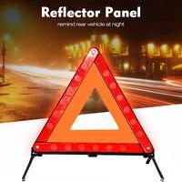 판매 자동차 비상 고장 경고 삼각형 빨간색 반사 안전 위험 자동차 삼각대 접이식 정지 신호 반사판 도매 csv|반사 스트라이프|자동차 및 오토바이 -