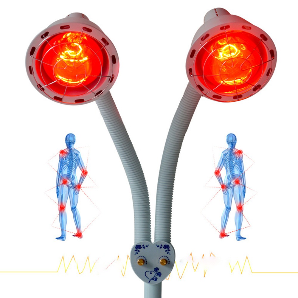 LED Light E27 Bulbs Infrared Therapy Lamp Bulb 275W Heating Physiotherapy Lamp Beauty Full Body Back Knee Pain Relief Lighting