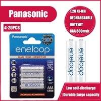 Neue Panasonic Eneloop 800mAh AAA 1,2 V NI-MH Akkus Für Elektrische Spielzeug Taschenlampe Kamera Pre-Aufgeladen Batterie