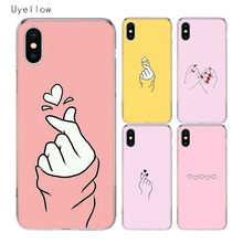 купить Uyellow Sweet Loves Candy Cover For Iphone 5 6 6S 7 8 Plus Trend Silicone Soft TPU Phone Case For Apple X XR XS MAX Coque Capa дешево