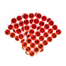 30*30мм клей круглый корпус наклейки красочные 1-500 печатный номер наклейки DIY подсчитать метки настраиваемый бесплатный дизайн