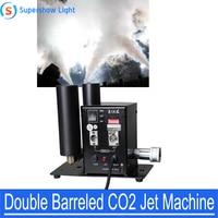 Supershow Stage Effect Double Barreled CO2 Jet DMX Machine for Bar KTV DJ Wedding Laser Par Light Flash Effects