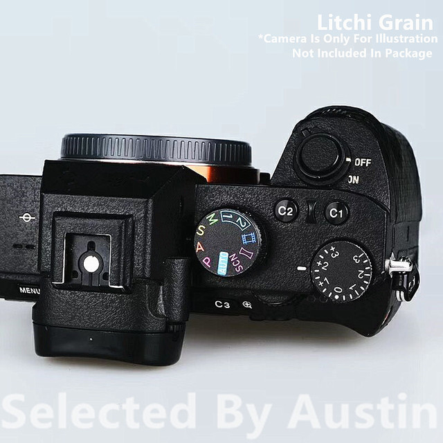 소니 A7R4 A7M4 카메라 스킨 데칼 프로텍터 안티 스크래치 코트 랩 커버 케이스에 대한 프리미엄 데칼 스킨