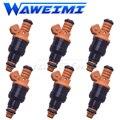 WAWEIMI 6 шт. Топливная форсунка OE 0280150791 для Prosche 911 993 3.6L Turbo для детей ростом 95-97 Фирменная Новинка