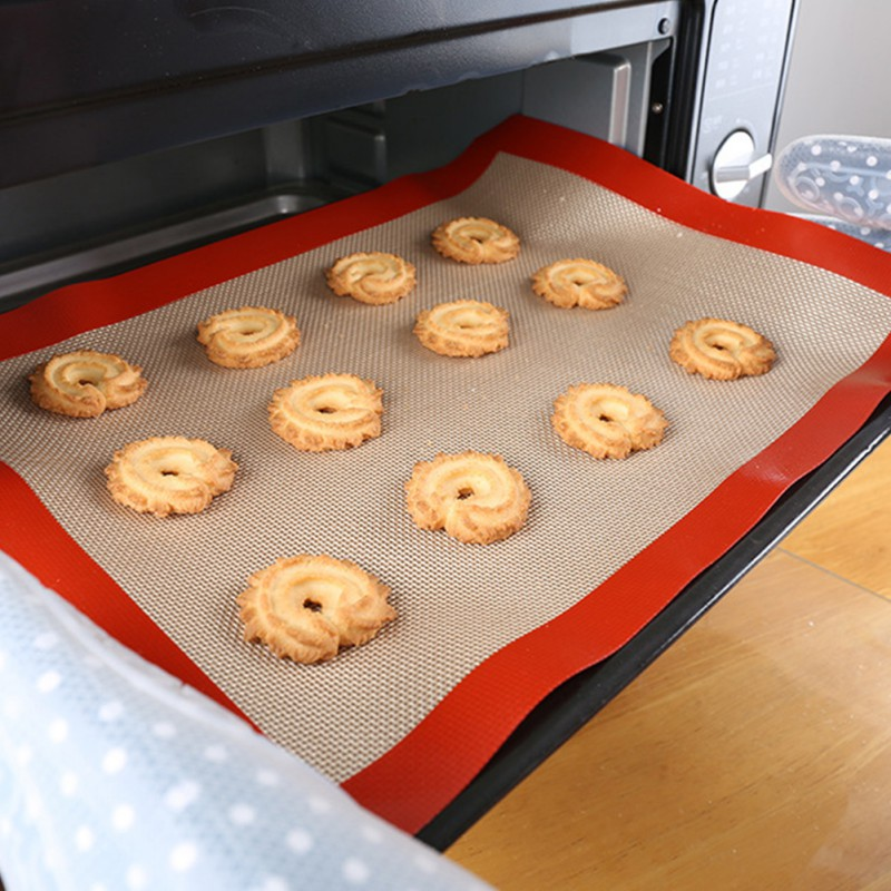 Silicone Baking Mat Rolling Dough Pad Kneading Dough Mat Non-Stick Pastry Sheet Oven Liner Kitchen Gadget Bakeware Accessories.