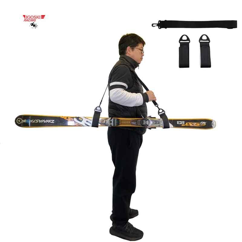 IGOSKI Ski And Double Cross Country Nordic Skiing Snowboard Alpine Snow Board Detachable Holder
