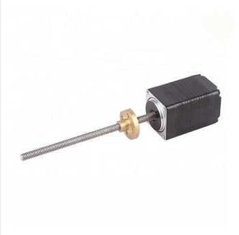 цена на nema 11 28*28mm mini T3.5 external type lead screw thread linear motor