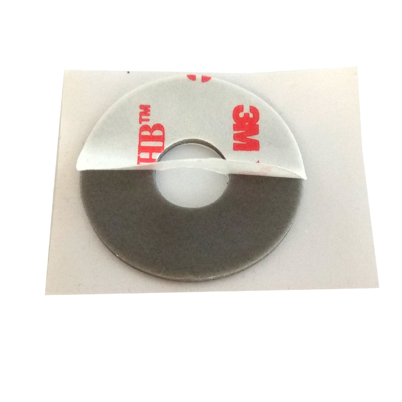 3M VHB 4941 Strong Adhesive Double Sided Sticky Pad Mounts Pads Washers Centre Hole For Pop Up Phone Holder Round 30mm