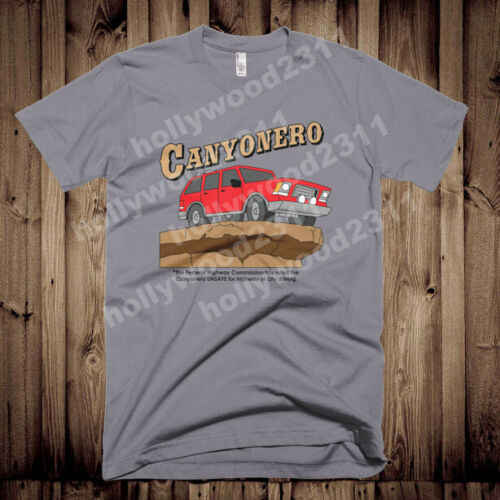The Simpsons Canyonero เสื้อยืด Tee 100% Cotton