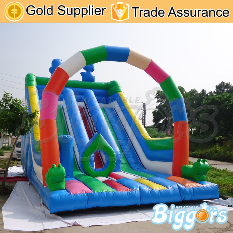 Commercial-Inflatable-Bounce-House-Castle-Slide-Combo