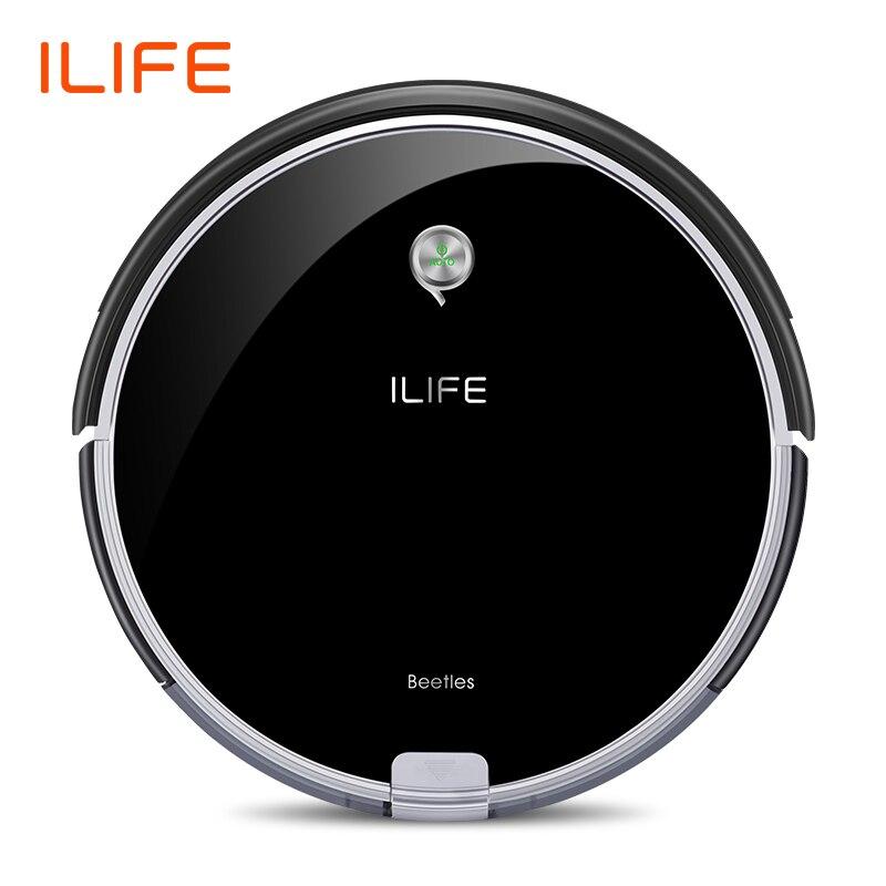 ILIFE A6 Aspiradora Robótica FUNCIÓN DE minihabitación Virtual de pared de gran potencia de succión de Recarga Automática