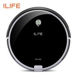 ILIFE A6 aspiradora robótica FUNCIÓN DE minihabitación pared Virtual potente succión Recarga Automática