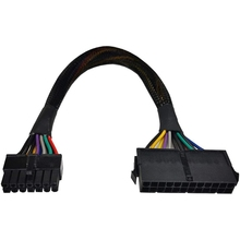 AU42 -24 Pin to 14 Pin ATX PSU Main Power Adapter Braided Sleeved Cable for IBM for Lenovo PC and Servers 12-Inch(30cm)
